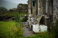 On Another Day (Steve Vallis) Tags: wales snowdonia snowdon bench house dirty wet rainy rain raining