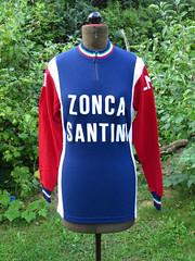 Zonca Santini 1975 (akimbo71) Tags: maillot maglia cycling jersey fahrradtrikot