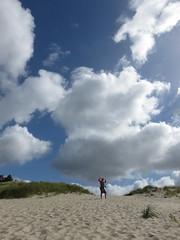 strongman on the beach (carolyn_in_oregon) Tags: cannonbeach oregon pacificocean coast jacob al allie
