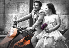 Bana Hills Wedding ! (James Whorriskey (Delbert Jackson)) Tags: jameswhorriskey jameswhoriskey delbertjackson derry londonderry uk ulster ireland northernireland photo photograph photographer picture aroundus impressionsexpressions catchycolors jameswhorriskeyphotography colour art print asia hochiminh city saigon vietnam busy outdoor motorcycles mopeds people road central bana hills banahills mountain resort amusement theme park danang cable car cablecarwedding bride groom july 2016 motorbike selective color mono