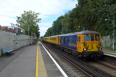 73965, Gipsy Hill (looper23) Tags: class 73 gipsy hill london gbrf rail railway network train test august 2016
