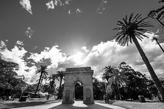 DSC01357 (Damir Govorcin Photography) Tags: war memorial burwood park sydney nsw clouds sky sun zeiss 1635mm sony a7ii