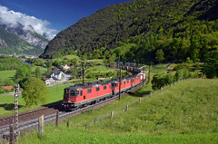Train 40241 @ Erstfeld (Wesley van Drongelen) Tags: sbb cff ffs cargo re 420 re420 44 ii freight gterzug marchandises fret goederentrein merci erstfeld silenen train trein zug treno