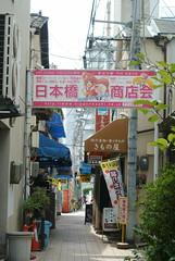 osaka889 (tanayan) Tags: urban town cityscape osaka japan    nikon j1 road street alley store association nipponbashi