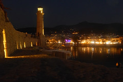 Rethymnon (Crete) - lighthouse (alkanast) Tags: greece crete rethymno lighthouse      nightshot