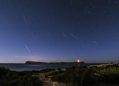 Estrella polar sobre Sa Conillera (YarosIbiza) Tags: polestar island saconillera ibiza eivissa nightphotography longexposure nightscape stars