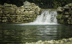 Dam near the old watermill, le Cambonnet, Luziers, France (ParadoX_Design) Tags: damneartheoldwatermill lecambonnet luziers france nature water dam mill falling waterfall stones pebble reflection