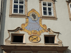 Sundial 272a (Andras, Fulop) Tags: salzburg austria travelphotography travel town building architecture sun dial time chrono