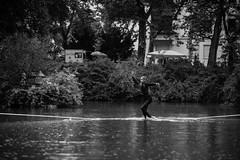 Clemens Waterline Feuersee (Susi Supertramp) Tags: slacklife slackline stuttgart germany feuerseefest feuersee slacklining waterline turtles swan city citylife goodvibes schnemenschen clemens tobi philipp janna water lake citylake photography