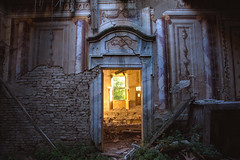 Promise of a better life (Post-Mortem (Alexandre Katuszynski)) Tags: urbex urbanexploration ue italy urbexitaly abandoneditaly house abandonedhouse maisonabandonne decay derelict decayed painting verlassen rotten forgotten lostplaces lowlight lost lostplace