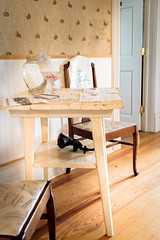 table, chair and things (Manon Damoon) Tags: table chair nude women house canon nudes old hardwood floor efs 24mm stm hotel restored