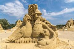 040 - Burgas - Sand Sculptures Festival 2016 - 24.08.16-LR (JrgS13) Tags: bulgarien filmhelden outdoor reisen sand sandscuplturefestivals sandskulpturenfestival urlaub burgas