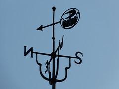 Viking Ship Weather Vane (Thomas Kelly 48) Tags: panasonic lumix fz150 wirral westkirby riverdee vane windvane weathervane