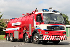 West Sussex Fire And Rescue Volvo FM12 Water Carrier (Ben Greenwood 999) Tags: west sussex fire and rescue volvo fm12 water carrier x629fpo