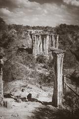 Tanzania (mripp) Tags: art kunst black white mono monochrom landscape landschaft afrika africa canyon geology geomorphology gestein stone beauty mankind cradle wiege der menscheit