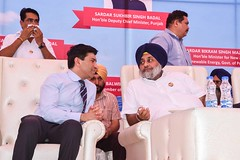 Our mission is to equip each of the 12000 villages in the state with solar lights in next 5 years(2) (sukhbirsingh_badal) Tags: progressingpunjab akalidal punjab sukhbirsinghbadal