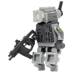 Combat Drone! (X39BrickCustoms .com) Tags: lego custom printed combat drone legos minifigure minifigs uv x39brickcustoms clonetrooperx39 guns smg bricks parts torsos