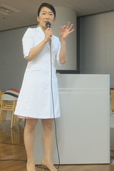 Dr. Miyu Takashima (HAMACHI!) Tags: tokyo 2016 japan omron toothbrush htb315 htb313 dentist presentation drmiyutakashima  electrictoothbrush snap portrait lady girl woman