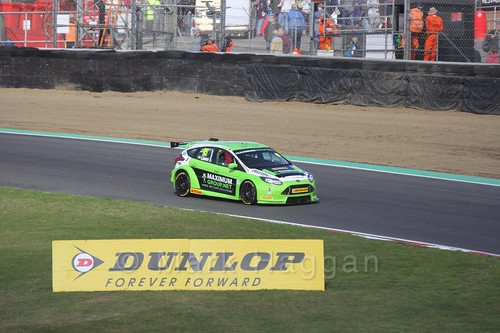 Stewart Lines during the BTCC Brands Hatch Finale Weekend October 2016