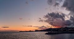 Sunset in Funchal - Madeira (_BSnake_) Tags: funchal sunset port sky himmel sun water ocean lake madeira funchalmadeira funchalport clouds wolken sonnenuntergang hafen