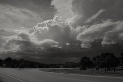 Intersection (Photographs By Wade) Tags: osagecounty oklahoma intersection storms clouds sky thunderstorm statehighway11 statehighway99 rural county country