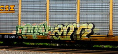grey - anti - creak (timetomakethepasta) Tags: grey anti tlc freight train graffiti csx autorack