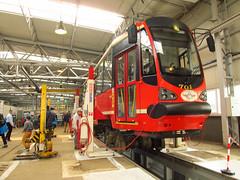 Konstal/Modertrans 105N-AC, #701, Tramwaje lskie (transport131) Tags: tram tramwaj bdzin t kzk gop konstalmodertrans 105nac zajezdnia depot