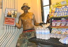 "James-""Nice and Cold""-Portrait #1 (AlaCoco13) Tags: yankeestadium nyc subway streetvendor newyorkcity niceandcold environmentalportrait documentary"