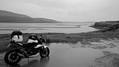 Triumph Speed Triple in adventure mode (urbannivag) Tags: northcoast500 scotland adv triumph speedtriple motoguzzi v7 motorbikes adventure touring