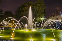 seda_03 (Nano_flick) Tags: night water fountain casadecampo silk fuente noche seda agua