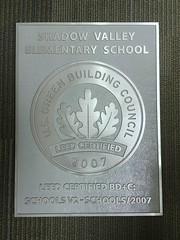 Aluminum LEED Certification Plaque (impactsigns.com) Tags: aluminum leed certification plaque with custom layout additional wording