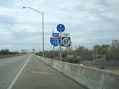TO 67 (US 71) Tags: mississippi highways roadsigns highwaysigns i110 interstate110
