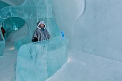 Please respect the art (madpixel.si) Tags: art ice hotel sweden kiruna