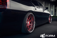 f210-redvelvet-srt8-fitment (AvantGardeWheels) Tags: red wheels velvet ag dodge form avant charger garde srt srt8 f210