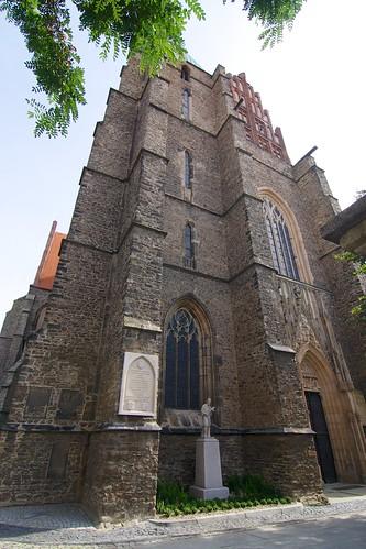 Kościół śś. Piotra i Pawła w Strzegomiu od północnego zachodu