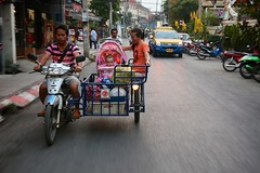 Family Transportation (brianfarrell) Tags: thailand mai april chiangmai chiang 2013