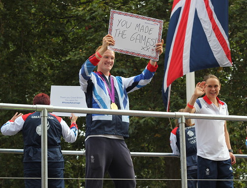 Heroes Parade Greg Rutherford
