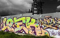 saturday feels good - loek epc kbt (dug_da_bug) Tags: madrid graffiti spain vv epc loek kbt vandalvoyeur saturdayfeelsgood saynotogrey