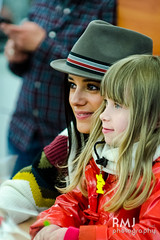 Alizée at autograph session in Poitiers 3