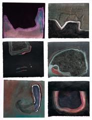 run - form (jon drypnz) Tags: man color ink paper mixed media acrylic body border shapes running run line torso form