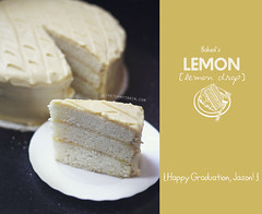 Lemon-Lemon Drop Cake 1 (clapanuelos) Tags: cake baking lemon celebration layercake