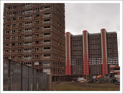 Red Road Highrise Demolition (Ben.Allison36) Tags: