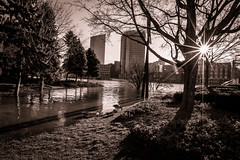 GRAND RAPIDS FLOOD 2013-1459 (RichardDemingPhotography) Tags: flooding flood michigan grandrapids grandriver grandrapidsmichigan floodwater westmichigan downtowngrandrapids puremichigan flood2013 michiganflooding grandrapidsflood