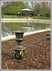 Wandle Park, new pond and bandstand (L'habitant) Tags: london pond surrey bandstand croydon g11 cr0 waddon wandlepark 130421