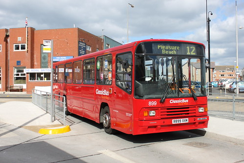 R899XVM - Cleveleys Bus Station - April 2013