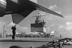 VAH-7 A3J-1 Vigilantes (skyhawkpc) Tags: airplane aircraft aviation navy naval usnavy usn ussenterprise vigilante northamerican 149284 149278 af711 rvah7peacemakers a5aa3j1 af705 af712 af707