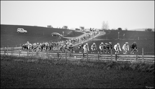sweeping peloton