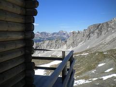 Vista dal Rifugio Passo delle Selle - Val di Fassa - Trentino Alto Adige (Bluesilver85) Tags: italy mountain alps montagne trekking landscape alto alpi montagna paesaggio trentino dolomites dolomiti rifugio selle passo adige fassa valdifassa escursione escursioni trentinoaltoadige