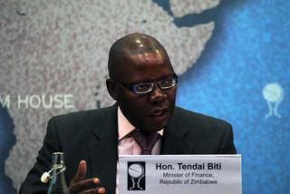 Hon. Tendai Biti, Minister of Finance, Zimbabwe