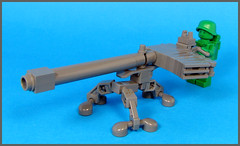 Recoil-less Auto-cannon (Karf Oohlu) Tags: gun lego minifig machinegun moc greenarmymen machinecannon